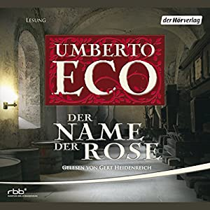 Der Name der Rose | Livre audio