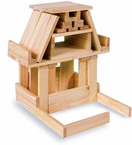 Eichhorn 100001602 costruzioni in legno 200 pezzi for Prezzi costruzioni in legno