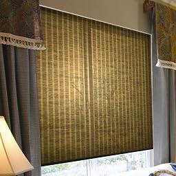 Coolaroo Interior Cordless Shade, Walnut, 52\