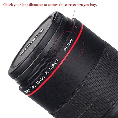 Lens Cap Bundle, 3 Pcs Center