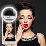 RC Selfie Ring Light Supplementary Lighting Night or Darkness For All Phones Black