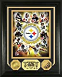 Pittsburgh Steelers 6 Time Super Bowl Champions 24KT Gold Photomint at Amazon.com