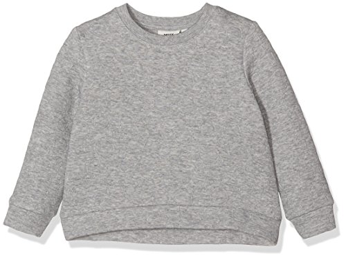 Mexx MX3024233-Felpa Bambina    Grau (Medium Grey Heather 040) 3 anni