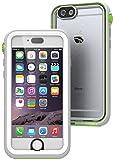 【日本正規代理店品】 catalyst 5m完全防水・防塵・耐衝撃ケース for iPhone6 ホワイト/グリーン CT-WPIP144-WTGR