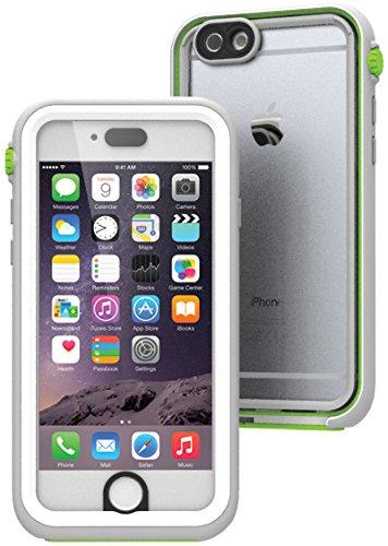 日本正規代理店品 catalyst 5m完全防水・防塵・耐衝撃ケース for iPhone6 ホワイト/グリーン CT-WPIP144-WTGR