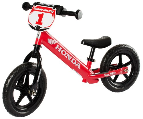 Strider ST-4 Honda No-Pedal Balance Bike - Red