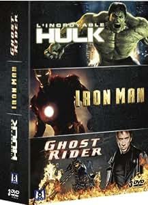 Marvel super heros: L'incroyable Hulk, Iron Man, Ghost Rider