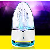 Fashion Subwoofer LED Music Fountain Water Dance Speakers - 7 In 1 Bluetooth Speaker For Apple 16 GB IPad Air