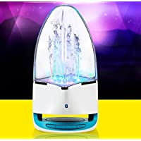 Fashion Subwoofer LED Music Fountain Water Dance Speakers - 7 In 1 Bluetooth Speaker For Apple 128 GB IPad Air