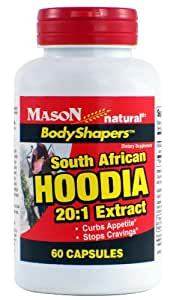 Mason Natural Diet Supplements, South African Hoodia 20:1 Extract, 60 Count