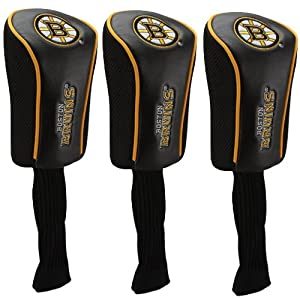 Buy NHL McArthur Boston Bruins 3-Pack Golf Club Headcovers by WinCraft