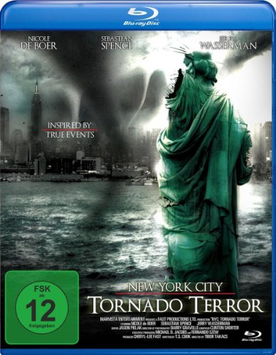 New York City: Tornado Terror [Blu-ray]