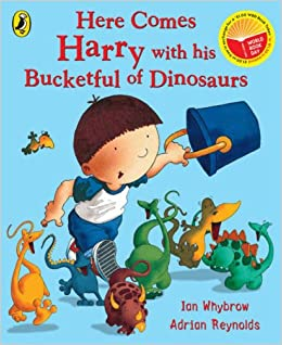 Buy Here Comes Harry with His Bucketful of Dinosaurs Book Online ...