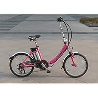 リチウム電池搭載 折りたたみ型(モペット)電動自転車IDATEN軽風�U20インチ