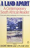 A Land Apart: A Contemporary South African Reader (0140100040) by Various