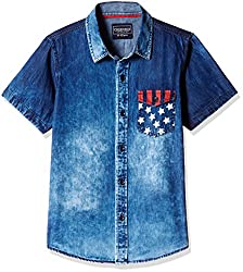 Cherokee Boys' Shirt (267982411_Indigo_9 - 10 years)