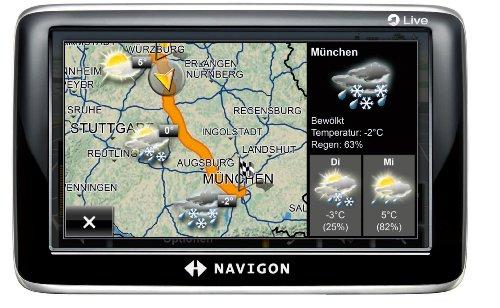 NAVIGON 6350 Live Navigationssystem (10,9cm (4,3