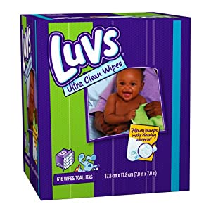 Luvs 8x Wipes, 616-count