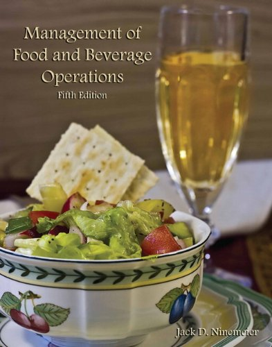 Management of Food and Beverage Operations with Answer Sheet (AHLEI) (5th Edition) (AHLEI - Food and Beverage) PDF