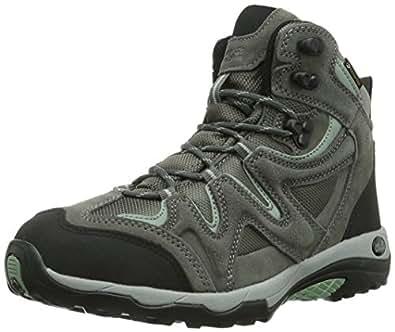 Jack Wolfskin  RUGGED HIKER TEXAPORE WOMEN, Chaussures de randonnée femme - Gris - Grau (opal green), 39.5 EU