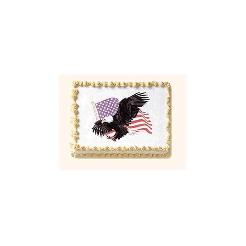 Eagle Cakes 1 Eagle & USA American Flag Do It Yourself ...