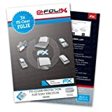 AtFoliX FX-Clear screen-protector for Sony-Ericsson K800i (3 pack) - Crystal-clear screen protection!