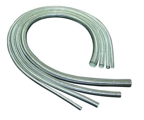 Taylor Cable 39003 ShoTuff Chrome Convoluted Tubing
