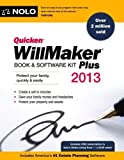 img - for Quicken WillMaker Plus 2013 Edition: Book & Software Kit 2013 edition by Editors, Nolo (2012) Paperback book / textbook / text book
