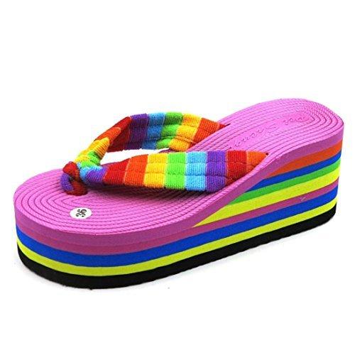 saingacer-sandales-dete-femmes-pantoufle-indoor-outdoor-chaussures-de-plage-flip-flops-rose-vif-3925