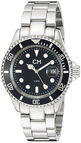 Carlo Monti - CM507-121A - Montre Homme - Quartz Analogique - Bracelet Acier Inoxydable Argent