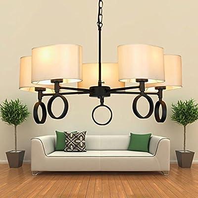 Minimalist, creative American-style restaurant, bar-cafe chandeliers, office lobby Lamp