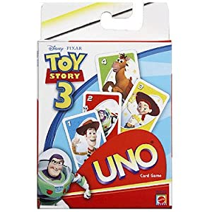 Mattel Toy Story 3 Uno Card Game