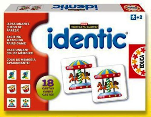 Educa Identic Memory Game Objects