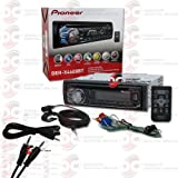 """2014 Pioneer 1DIN Car Stereo Cd Player with Bluetooth Pandora Support + Remote Control """"FREE"""" 3.5mm AUX Cable"""