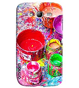 Omnam Cover Made Of Beautiful Colored Paint Buckets Printed Designer Back Cover Case For Samsung Galaxy Grand