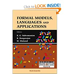 Formal Models, Languages And Applications
