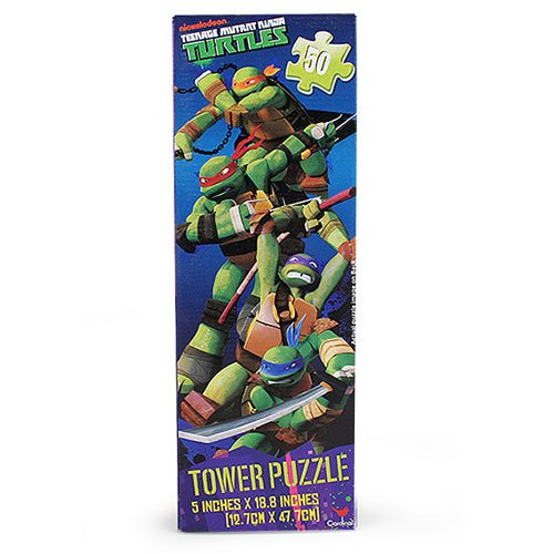 TMNT Tower Puzzle [50 Pieces]
