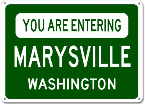 Marysville City Sign