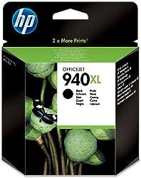 Hewlett Packard C4906AE - Cartucho Inyeccion Tinta Negro 940Xl 49Ml 2.200 Paginas Officejet/940/Pro 8000/Pro 8500