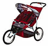 InStep Run Around 2 LTD Double Jogging Stroller (Teal/Brick)