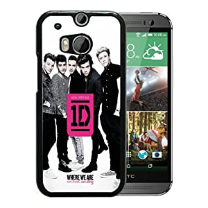 Unique HTC ONE M8 Case Design with One Direction Black Case at SteelerMania