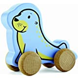 Hape Eco Baby Seal Push-Pull Toy