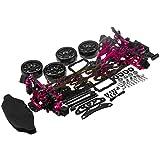 Hobbypower 1/10 Alloy & Carbon Rwd Drift Racing Car Frame Body Kit For Sakura D4 Rwd #Kit D4 Rwd