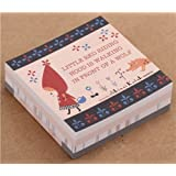 Little Red Riding Hood And Wolf Fairy Tale Memo Pad Paper Block Pad