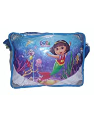 Wise Guys Cartoon Print Sling Bag For Kids - Transparent Blue 1