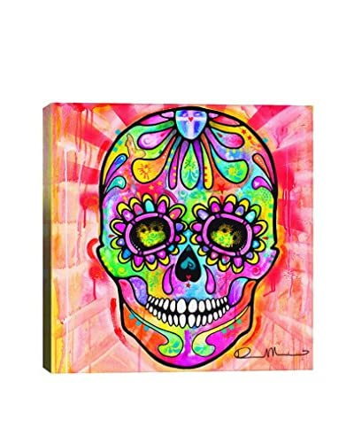 Dean Russo Gallery Sugar Skull Day Of The Dead Canvas Print