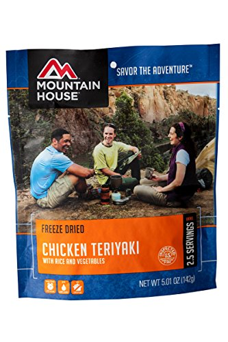 Mountain House Chicken Teriyaki with Rice (Freeze Pouch compare prices)