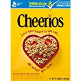 General Mills, Cheerios Cereal, 18oz Box (Pack of 3)