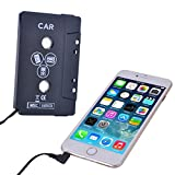 WESTGO(TM) Cassette Adapter for Car Stereo System - For iPhone, iPod, Mp3 player, CD player, & Smartphones