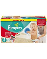 Pampers, Pannolini Easy Up, misura 5 (12 - 18 kg), 1 confezione (1 x 88 pz.)
